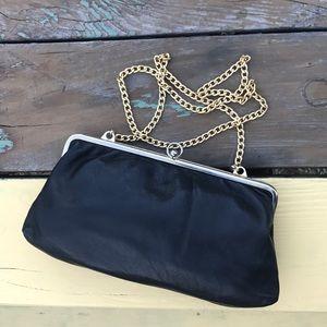 Vintage leather mini  bag